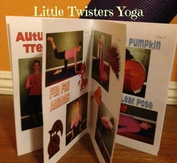 Autumn-Themed Movement and Yoga Booklet--Multiple Formats! Print or Electronic
