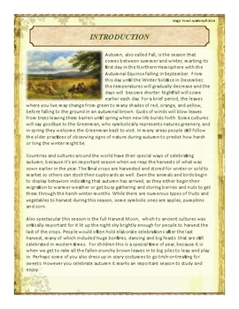 Autumn Themed Nature Education Unit-Stage 2 (Magic Forest Academy)