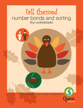 Autumn Themed Number bonds and grouping