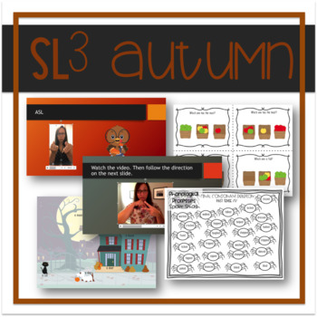 Autumn-Themed Speech, Language, Literacy, and Listening Therapy