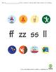Autumn Themed Word endings double/bonus letters zz, ss, ff, ll