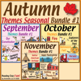 Autumn Themes Puzzles – Seasonal Bundle #1