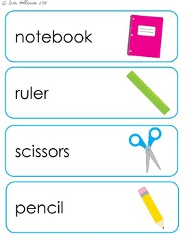 Autumn Themes and Holidays Vocabulary Card Bundle