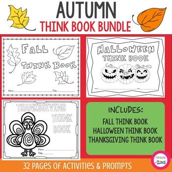 Autumn Think Book Student Journal Bundle