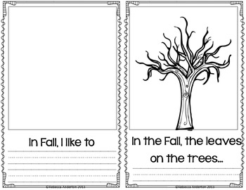 Autumn Time Activity Book Freebie!