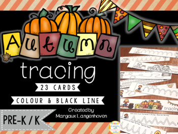 Autumn Tracing Cards