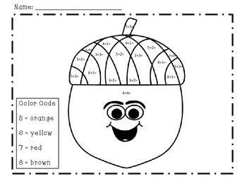 Autumn Treat Pack - ELA & Math