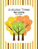 Autumn Trees - Skip Counting by FIVEs