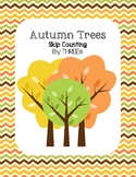 Autumn Trees - Skip Counting by THREEs