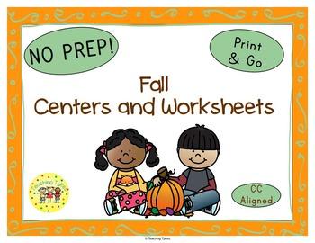 Fall Seasons Worksheets Activities Games Printables and More