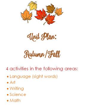 Autumn Unit Plan
