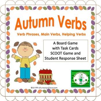Autumn Verbs:  Verb Phrases, Main Verbs, Helping Verbs