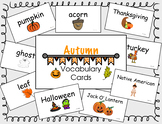 Autumn Vocab Cards