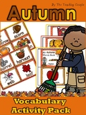 Autumn Vocabulary Activity Pack