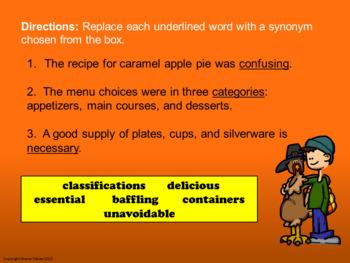 Prefixes, Suffixes, Synonyms, Antonyms - Autumn Vocabulary Practice