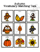 Autumn Vocabulary Folder Game for Early Childhood Special Education