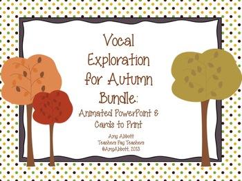 Autumn Vocal Exploration: Bundled Set