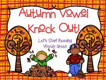 Autumn Vowel Knock Out