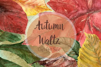 Autumn Waltz - Clip Art Set