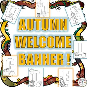 Welcome Banner (Autumn)