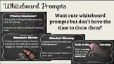 Autumn Whiteboard Prompts