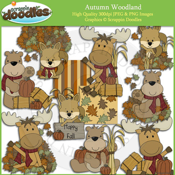 Autumn Woodland Animals