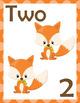 Autumn Woodland Number Set
