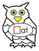 Autumn Word Families AN AT IP UG and OWL Coloring Page ELA Literacy Letters 7pgs