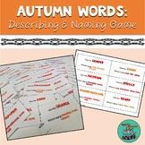 Autumn Words: Describing and Naming to Description, Speech