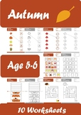 Autumn Worksheets Age 5-6