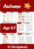 Autumn Worksheets Age 6-7
