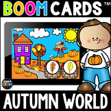 Autumn World Boom Cards™ Task Card Activities for Fall Dis