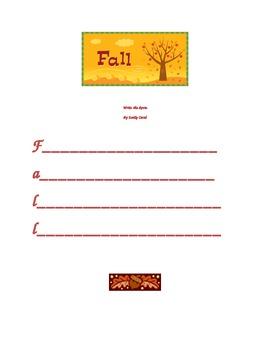 Autumn/Fall  Write the Room