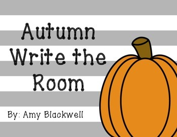 Autumn Write the Room