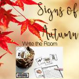 Fall Autumn Write the Room