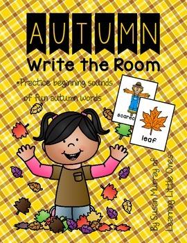 Autumn Write the Room *Easy Prep!!*