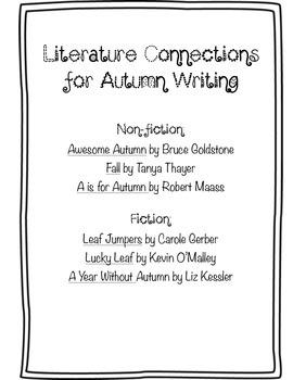 Autumn Writing