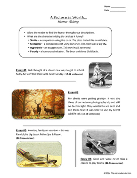 Autumn/Fall Writing Prompts: 33 Printable Worksheets (Gr. 3-7)