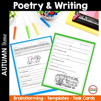 Autumn Guided Writing Activities