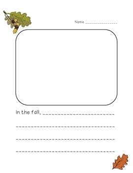 Autumn Writing Activity