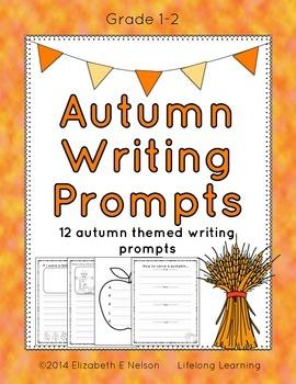 Autumn Writing Prompts: Grades 1-2