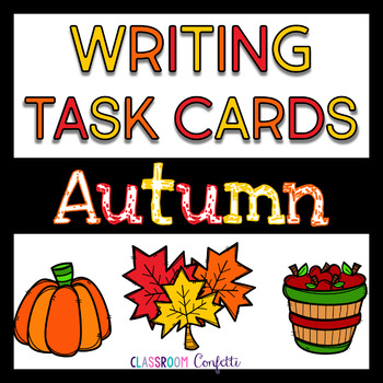 Autumn Writing Task Cards