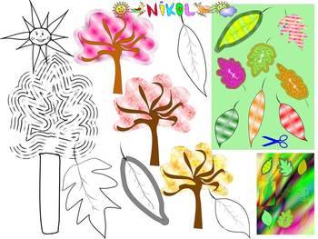 Fall - Bundle -  Labels - Writing - Clip Art - Personal or Commercial Use