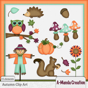 Autumn and Fall Clip Art