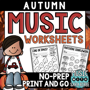 Autumn And Fall Music Activities 68 Page Mega Pack