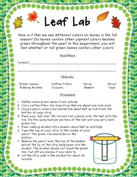 Autumn and Fall Reader's Theater, Leaf Lab, and Activities Pack