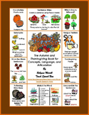 Autumn and Thanksgiving Activities for Concepts, Language, and Speech