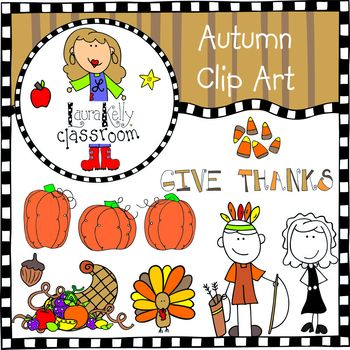 Autumn and Thanksgiving Clip Art
