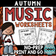 Autumn and Winter Mega Pack of Worksheets **BUNDLED SET**