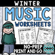 Autumn and Winter Mega Pack of Worksheets **BUNDLED SET**